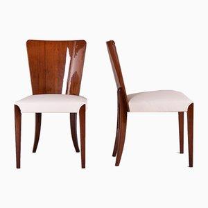 Czech Art Deco Side Chairs by Jindrich Halabala, 1940s, Set of 6