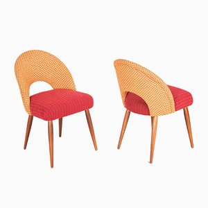 Mid-Century Side Chairs, 1950s, Set of 4