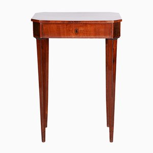 Small Empire Austrian Mahogany Side Table, 1810s
