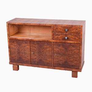 Functionalist Walnut Commode, 1930s