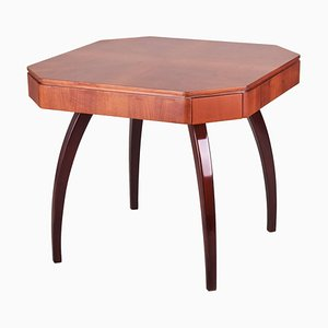 Walnuss Spieltisch von Jindrich Halabala, 1920er