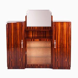 Französisches Art Deco Sideboard mit Spiegel, 1920er