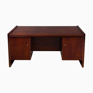 Art Deco Walnut Desk, 1930s