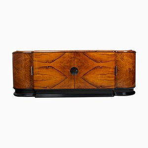 Art Deco Walnut Sideboard, 1920s