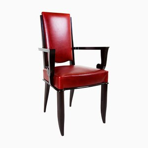 Art Deco French Armchair by Jules Leleu, 1920s