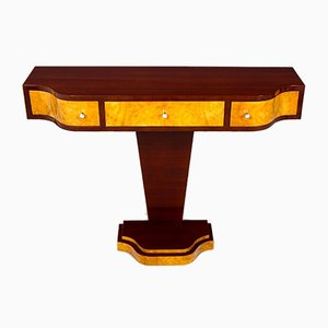 Art Deco French Rosewood Console Table, 1920s
