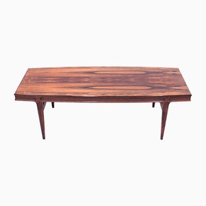 Rosewood Coffee Table by Johannes Andersen for AB Trensums Fåtöljfabrik, 1960s