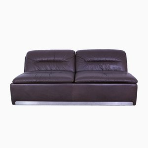 Vintage Leather 2-Seat Sofa from Saporiti Italia