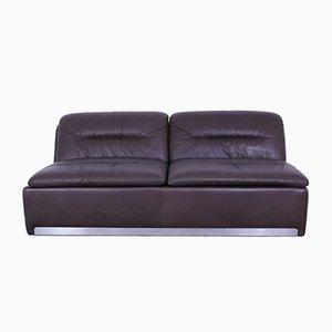 Vintage Leather 2-Seat Sofa from Saporiti Italia