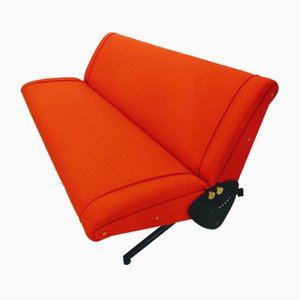 Sofá cama D70 de Osvaldo Borsani para Tecno, años 70