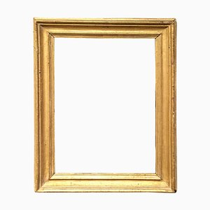 Antique Italian Giltwood Frame by Salvator Rosa, 1770s