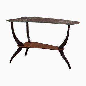 Table Basse en Forme de Haricot en Verre par Ico Parisi, Italie, années 50