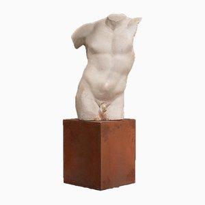 Italian Gladiatore Borghese Torso Sculpture, 1950s