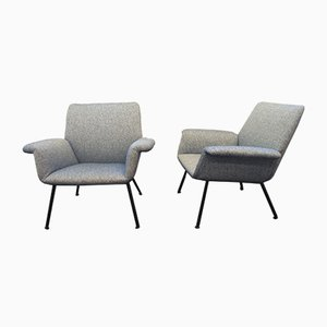 Mid-Century Lounge Chairs by Augusto Bozzi for Saporiti Italia, Set of 2
