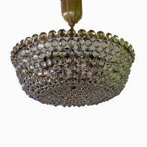 Kronleuchter aus Kristallglas von Lobmeyr, 1950er