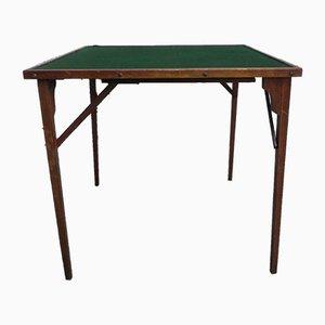 Mesa de juegos plegable, años 50