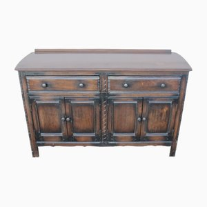 Carved Oak Sideboard from Ercoll, 1960s