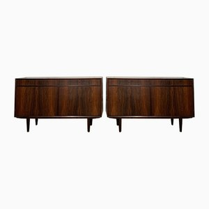 Rosewood Buffets, 1960s, Set of 2