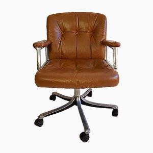Chaise de Bureau P128 par Osvaldo Borsani pour Tecno, Italie, années 60