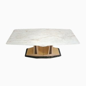 Parchment & Marble Dining Table, 1959