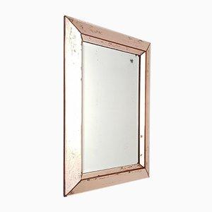 Italian Pink Mirror, 1940s