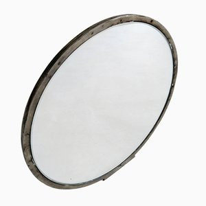 Swedish Art Deco Pewter Hand Mirror, 1930s