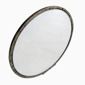 Swedish Art Deco Pewter Hand Mirror, 1930s