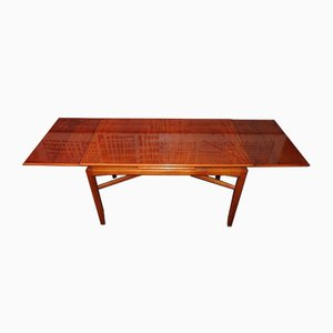 Swedish Birch Extendable Coffee Table, 1940s