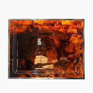 Plexiglas Tablett von Christian Dior, 1970er