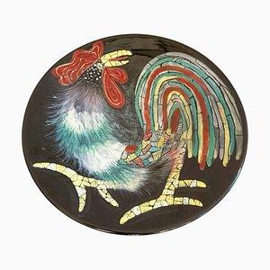 Italienische Keramik Schale von San Polo, 1950er