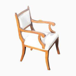Esszimmerstühle aus Nussholz, 1960er, 6er Set