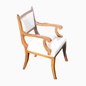 Walnut Dining Chairs, 1960s, Set of 6