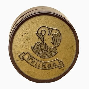 Vintage Bakelite Pelican Tin from Günther Wagner