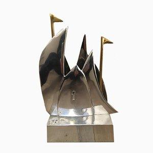 Escultura de veleros de David Marshall para Marshall Disenos, años 90