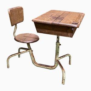 Adjustable School Desk, 1950s