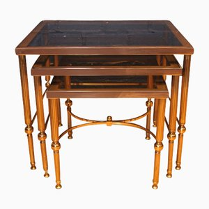 Tables Gigognes par Maison Charles pour Maison Jansen, 1960s
