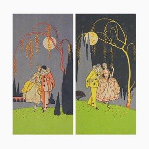 Lámina Art Déco, años 30