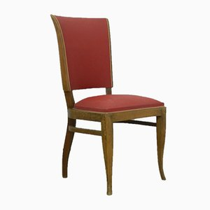 French Art Deco Dining Chairs, 1930s, Set of 4