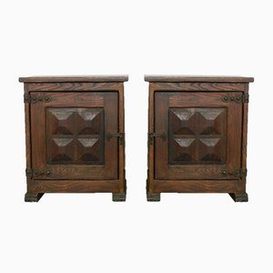Spanish Nightstands, 1950s, Set of 2