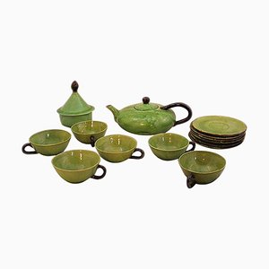 Tea Service by Dieulefit Provence, 1960s