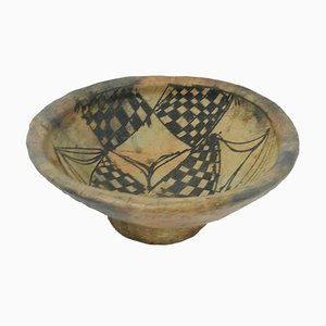 Cuenco de cerámica africana, años 20