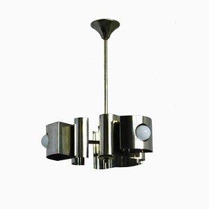 Lampe à Suspension Vintage en Métal, France