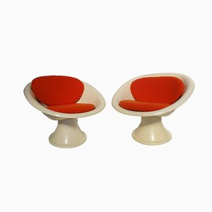 Mecurio Lounge Chairs, 1967, Set of 2