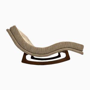 Chaise longue a dondolo di Adrian Pearsall per Craft Associates, anni '60
