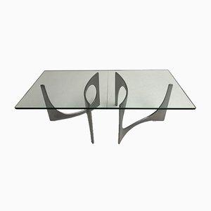 Mesa de centro escultural gemela de Knut Hesterberg, años 70
