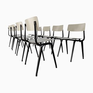Theatre Dining Chairs by Friso Kramer, 1959, Set of 8