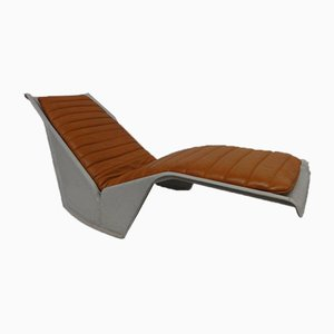 Serpentina Chaise Lounge by Burkhard Vogtherr for Rosenthal Studio, 1976