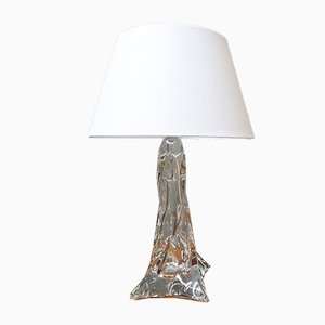 French Table Lamp from Cristallerie Lemberg, 1960s