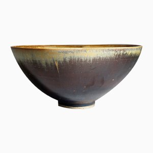 Swedish Stoneware Bowl by Anders Dolk, 1980s