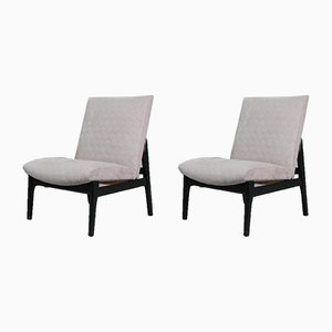 Vintage English Lounge Chairs from Parker Knoll, 1960s, Set of 2